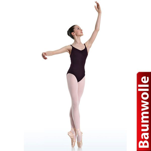 Danceries Trikot T17 Christy - Baumwolle 36 schwarz
